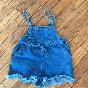 women's denim overalls!